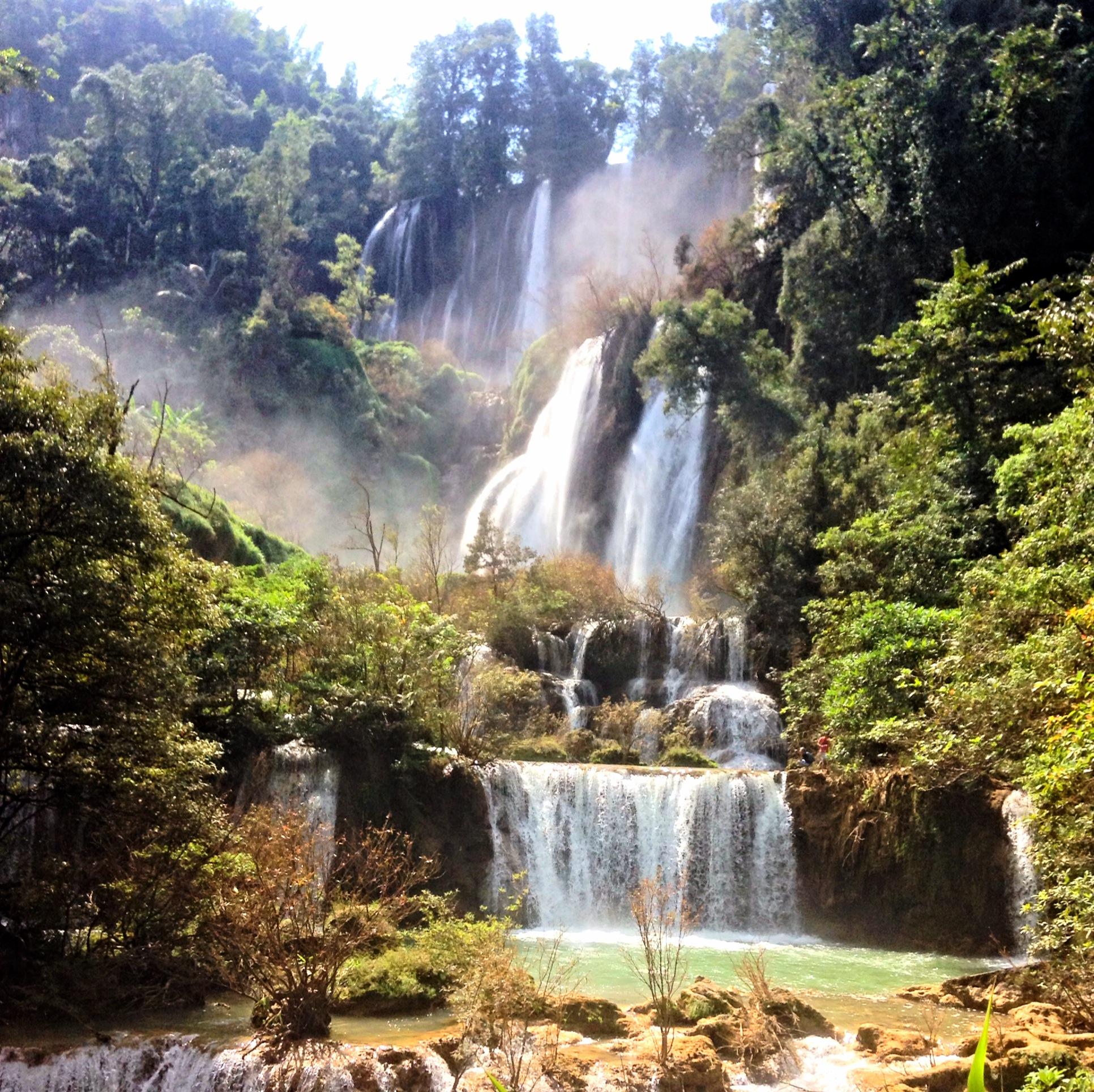 آبشار خلانگ لن تایلند