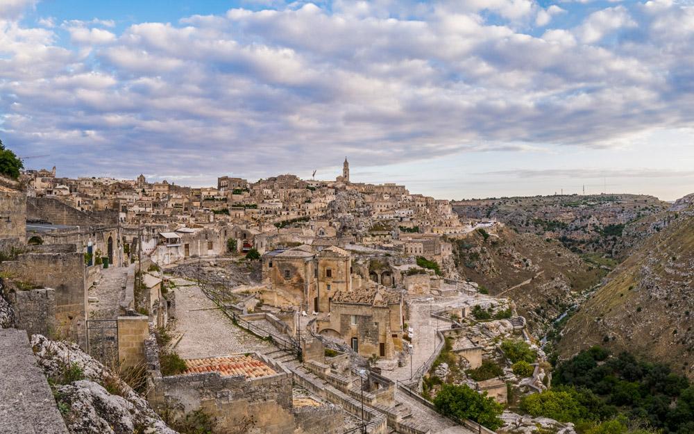 شهر باستانی Matera در جنوب ایتالیا