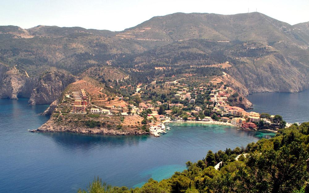 Assos، مکانی عالی برای استراحت در تور یونان