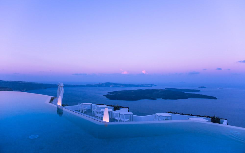 تعطیلاتی بهشتی در هتل بوتیک Grace Santorini یونان
