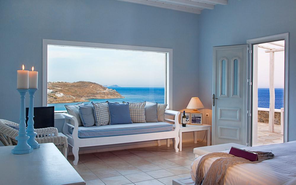 هتل Pietra E Mare، مکانی روح بخش در میکونوس یونان