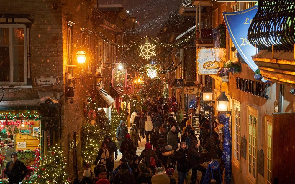 تجربه حال و هوای مفرح کریسمس در کبک کانادا