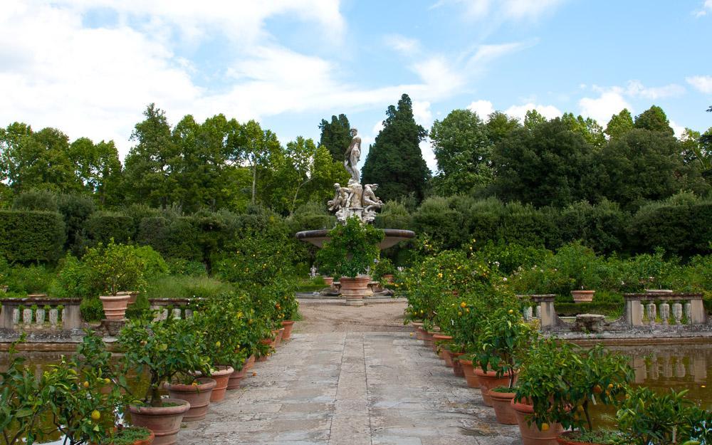 باغ سرسبز بوبولی در قلب فلورانس
