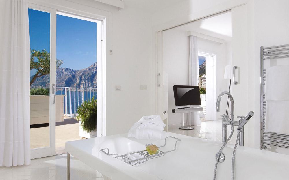 کاسا آنجلینا، هتلی شیک و مدرن در ساحل آمالفی ایتالیا