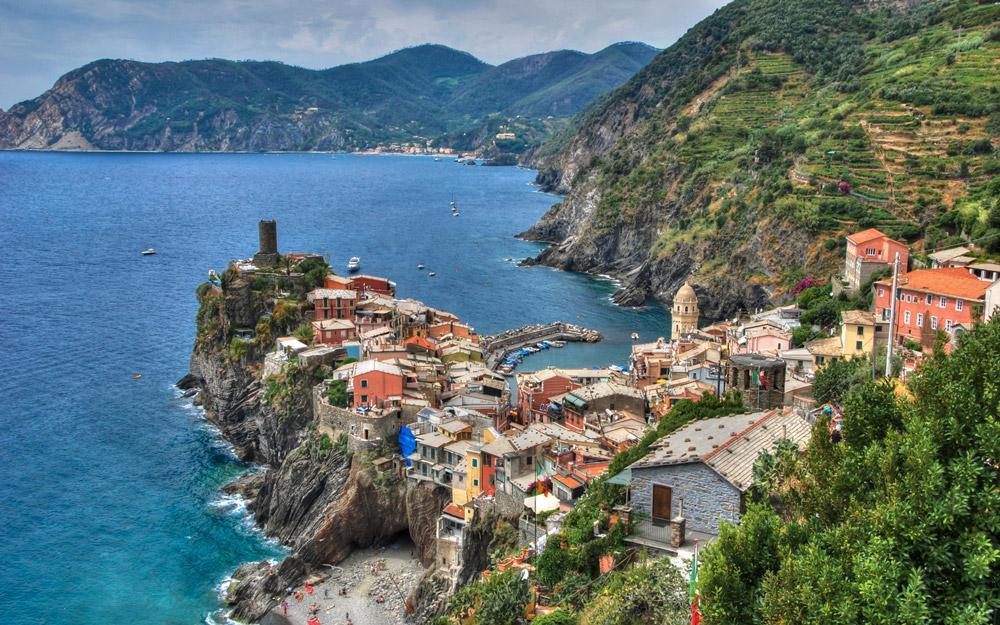 ورنازا، شهری رمانتیک در سینکو تره ایتالیا