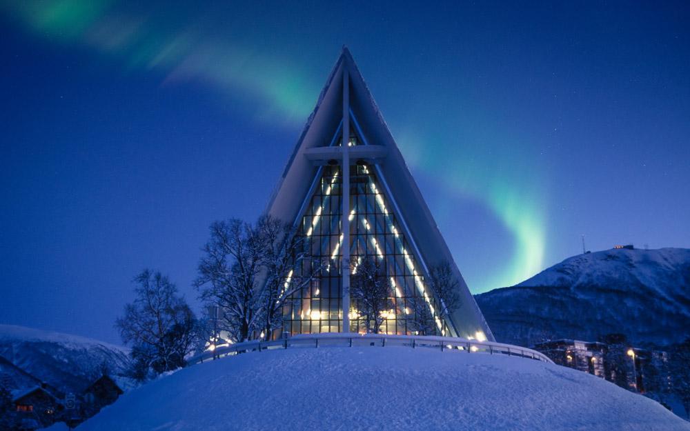 یک کریسمس قطبی در ترومسو نروژ