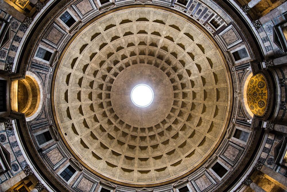 پانتئون، زیباترین بنای باستانی رم ایتالیا