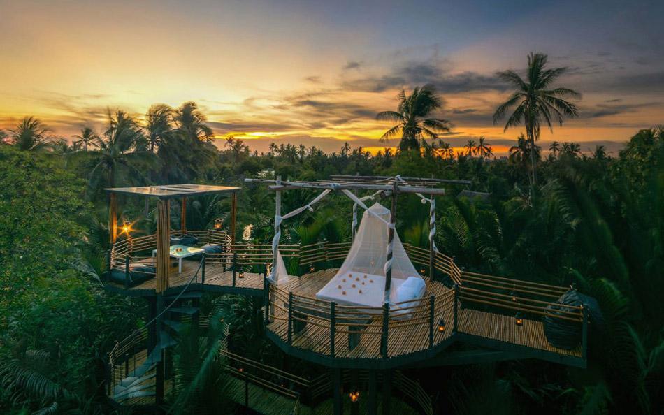 معرفی بهترین هتل های دنیا با اتاق هایی در فضای باز
