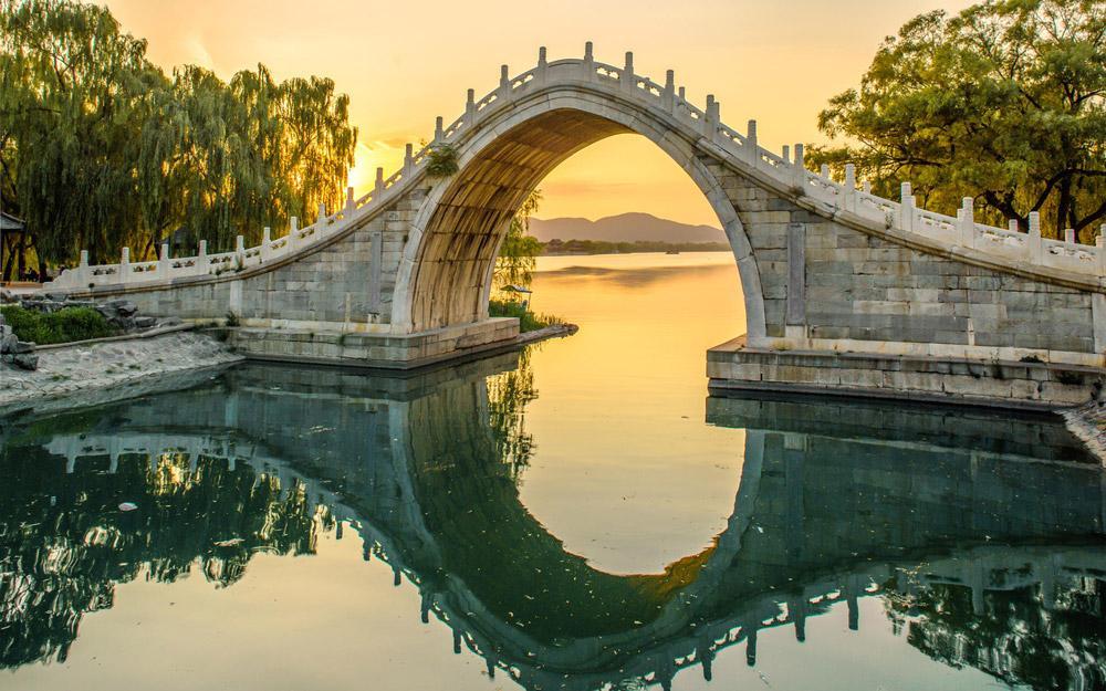 هنر باغ آرایی باشکوه و زیبای چینی در کاخ تابستانی پکن