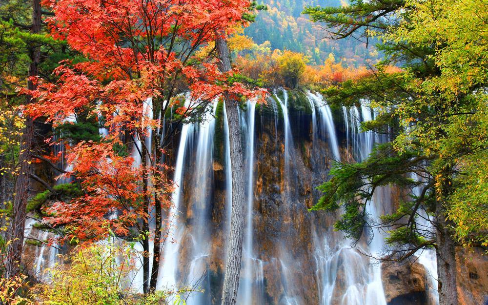 پنج تا از بهترین مکان های چین برای بازدید در پاییز