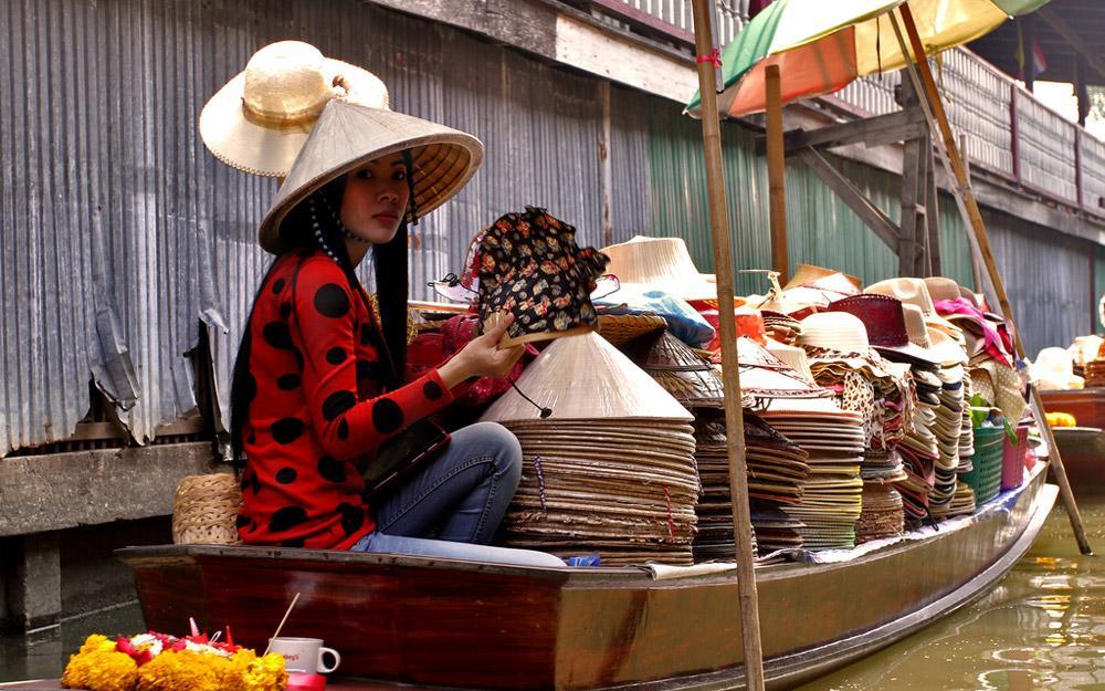 پنج تا از بهترین بازارهای روی آب بانکوک