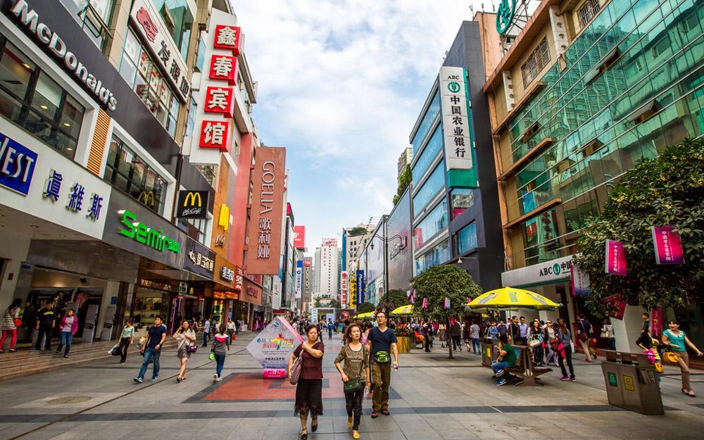 خرید سوغاتی در چنگدو در تور چین
