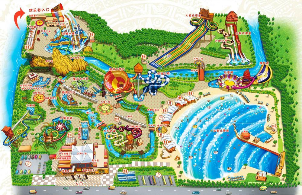 بازدید از برترین پارک های آبی شانگهای در تور چین