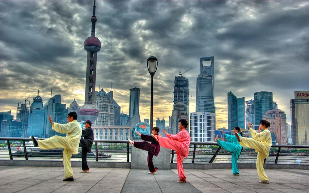 در تور چین در شانگهای کارهای مردم محلی را انجام دهید