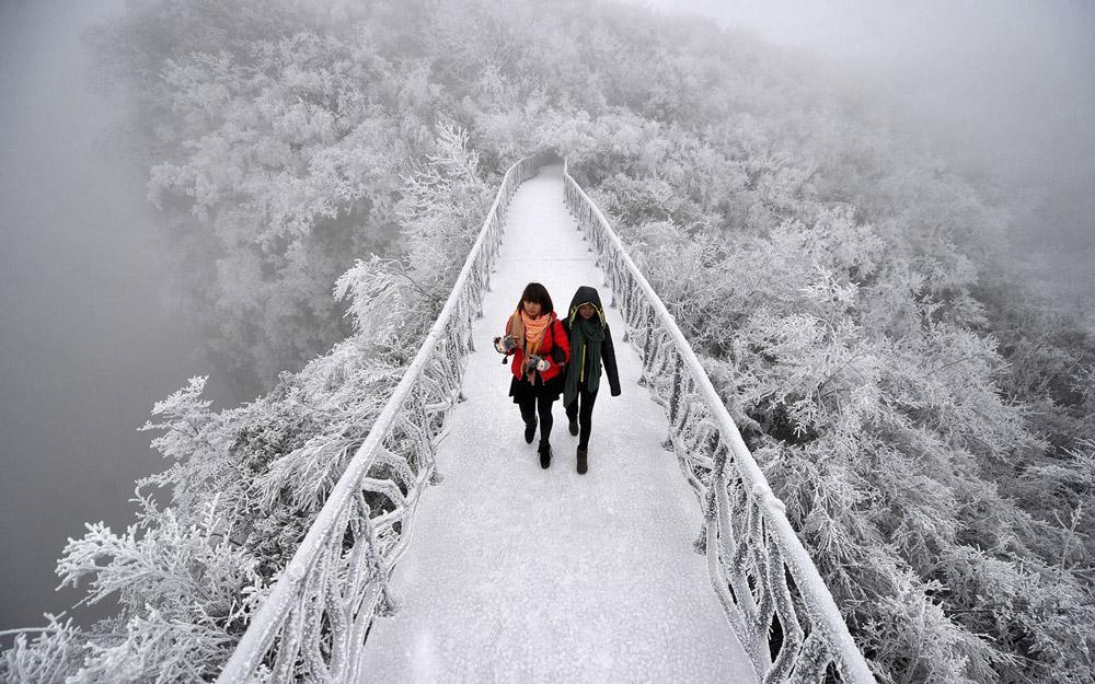 مناظر نفسگیر کوهستان تیانمن چین