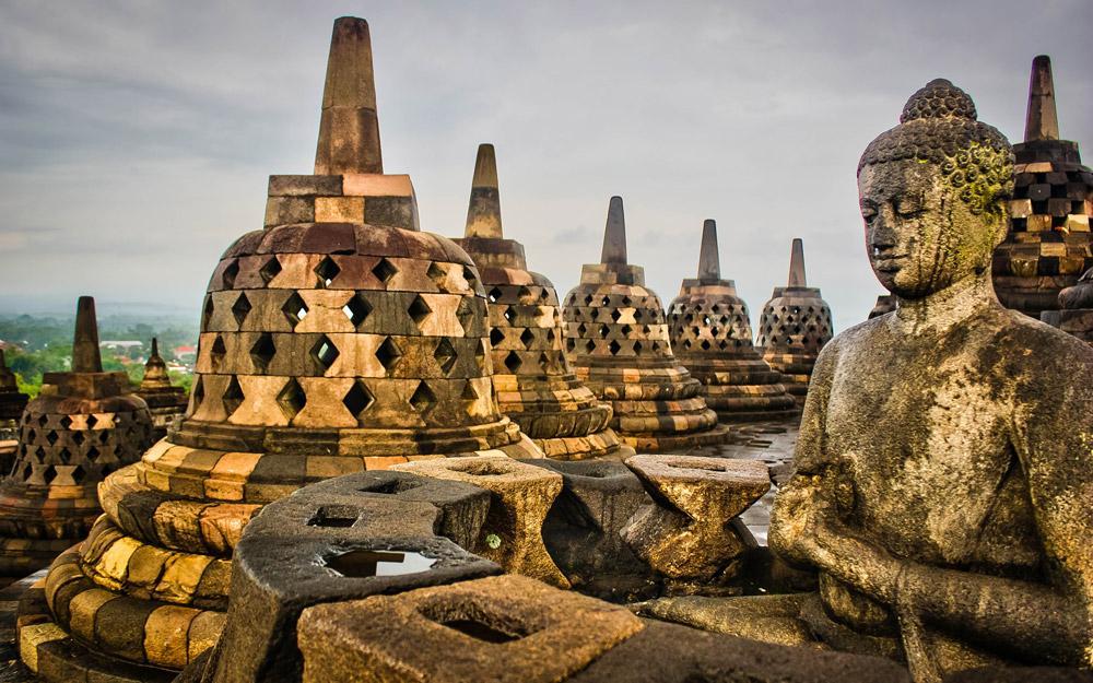 بوروبودور، مکانی نمادین و باستانی در اندونزی
