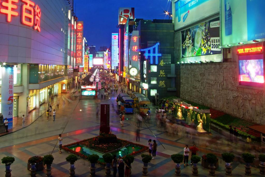 پنج خیابان مشهور برای خرید در چین