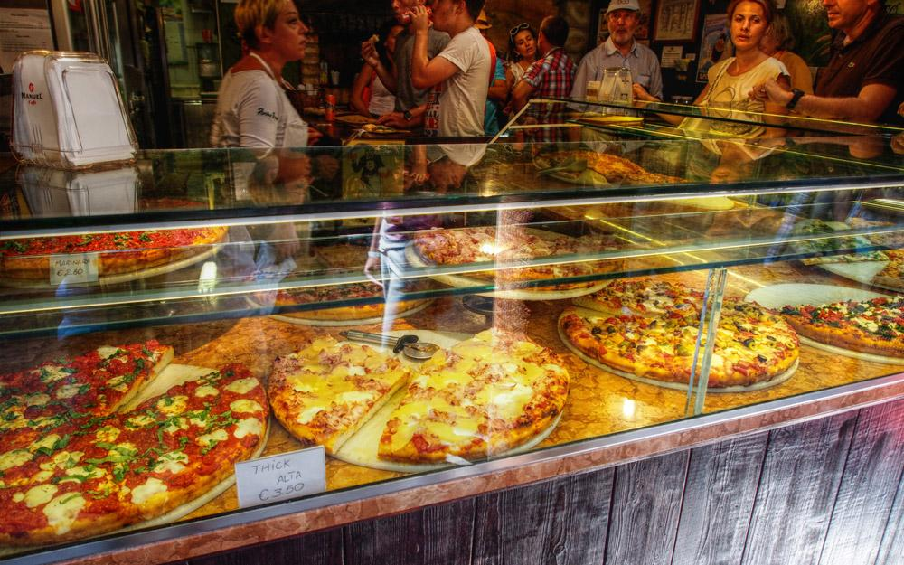 پیتزا فروشی آنتیکو فورنو ونیز (ایتالیا)