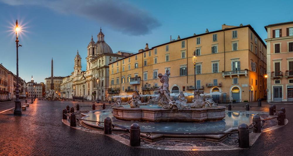 میدان ناوونا رم (ایتالیا)