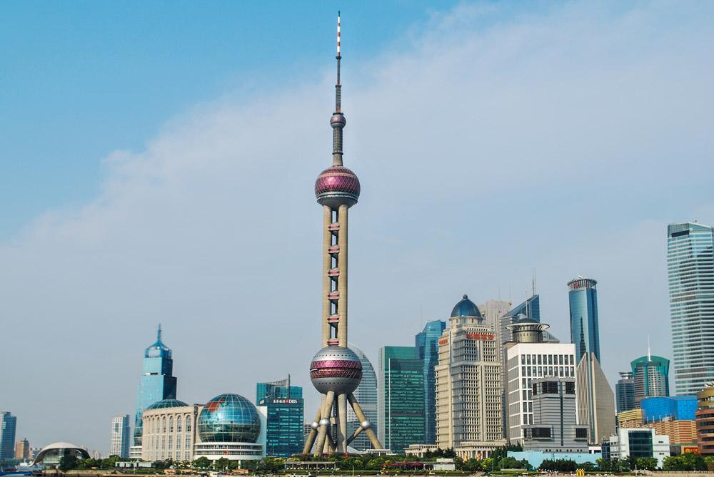 برج مروارید شرقی شانگهای (چین)
