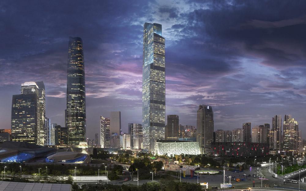 برج مرکز مالی CTF، گوانجو (چین)