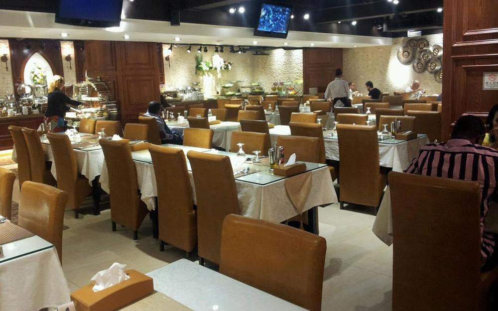 رستوران ترکی بوسفور گوانجو (چین)