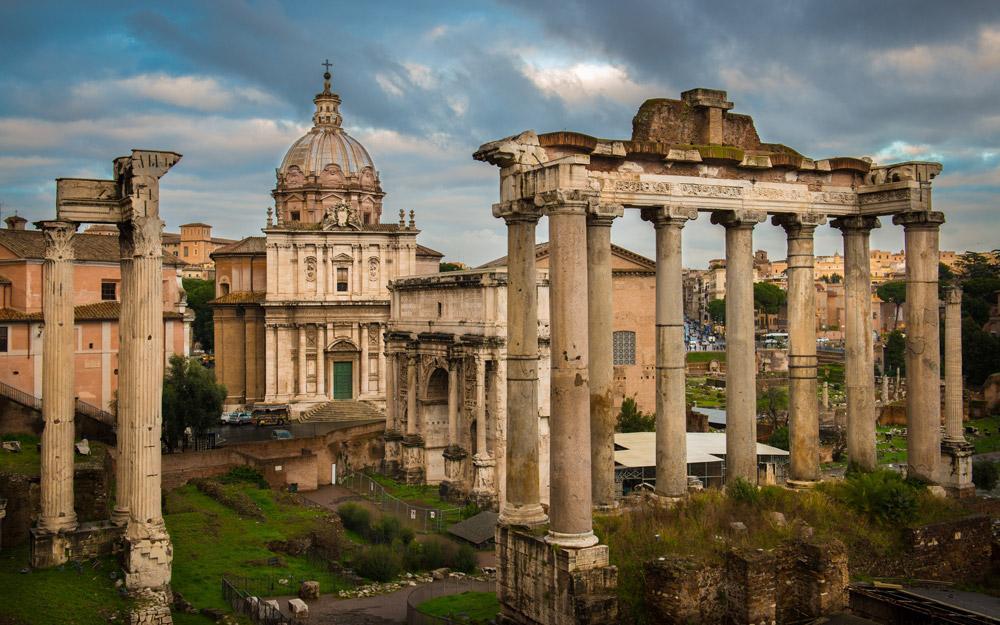 میدان رومی، رم (ایتالیا)