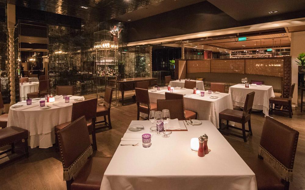 رستوران هتل گرند هایت بانکوک (تایلند)