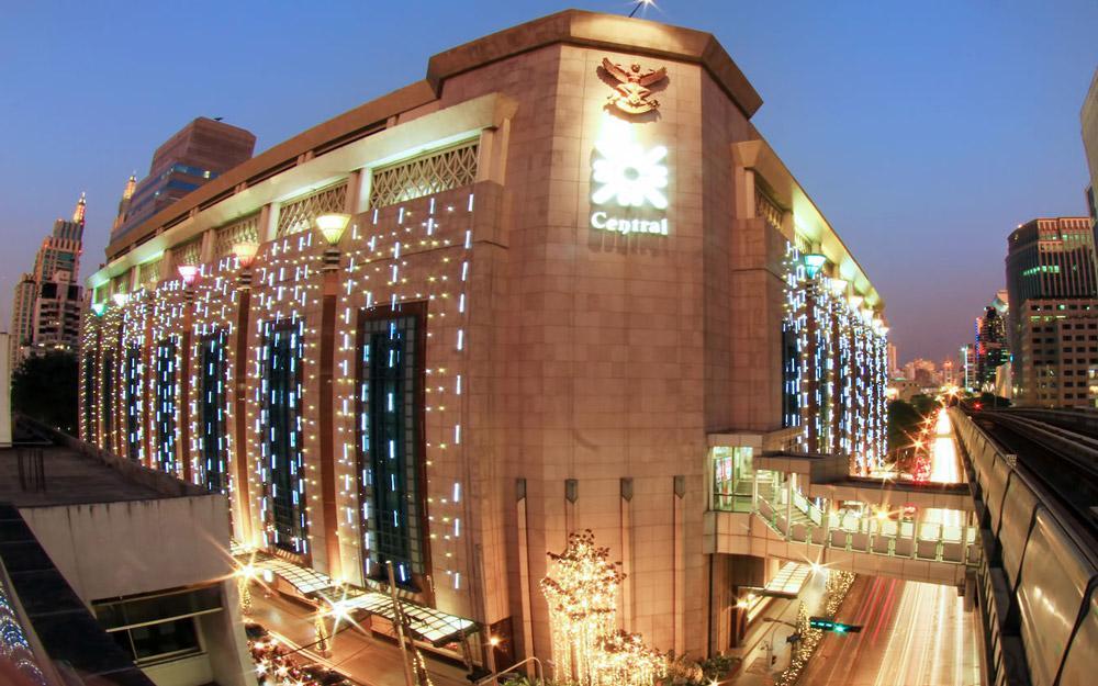 مرکز خرید سنترال چیدلوم بانکوک (تایلند)