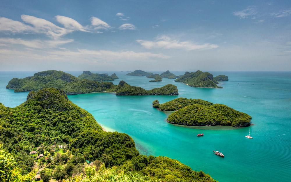 پارک ملی دریایی آنگ تونگ سامویی (تایلند)