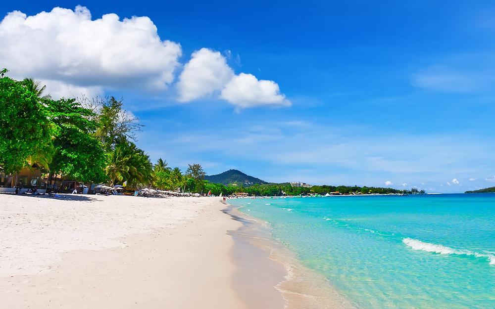 ساحل چاونگ سامویی (تایلند)