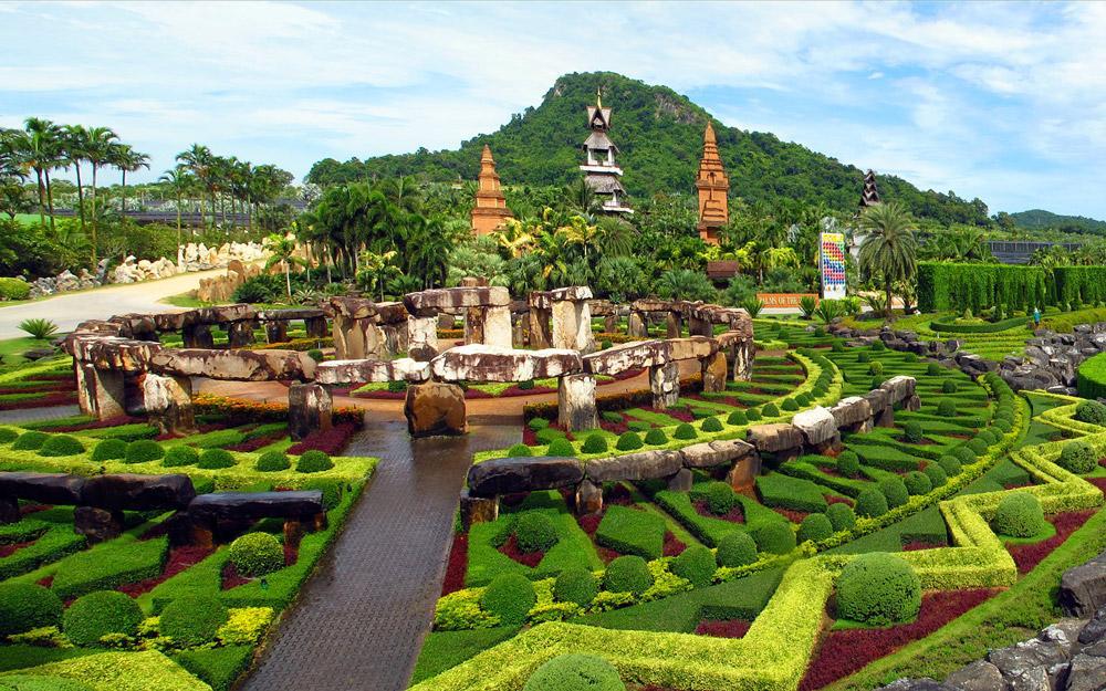 باغ گیاه شناسی نانگ نوچ پاتایا (تایلند)