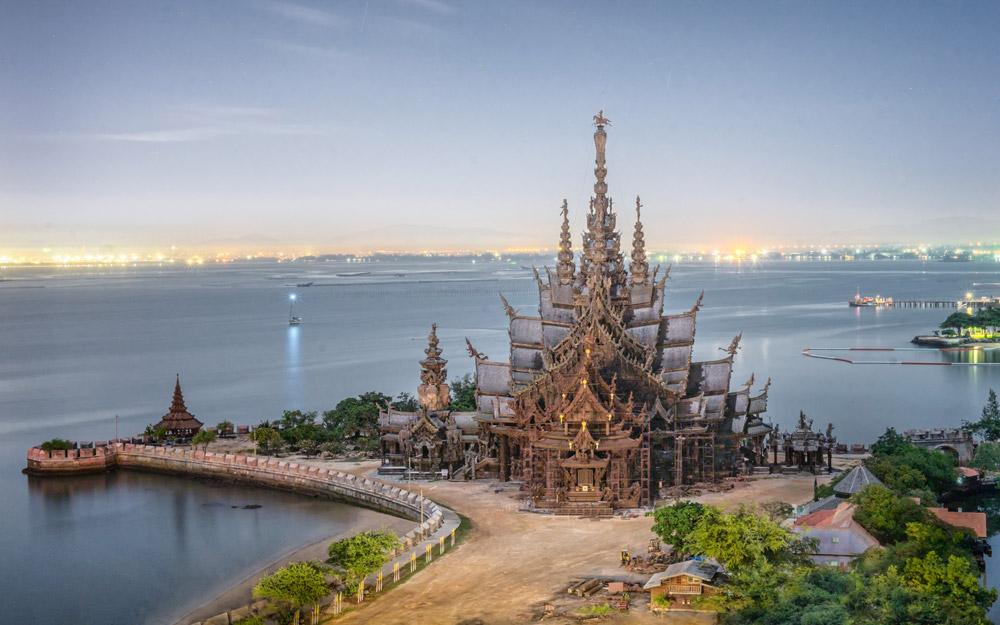 خانه مقدس حقیقت پاتایا (تایلند)