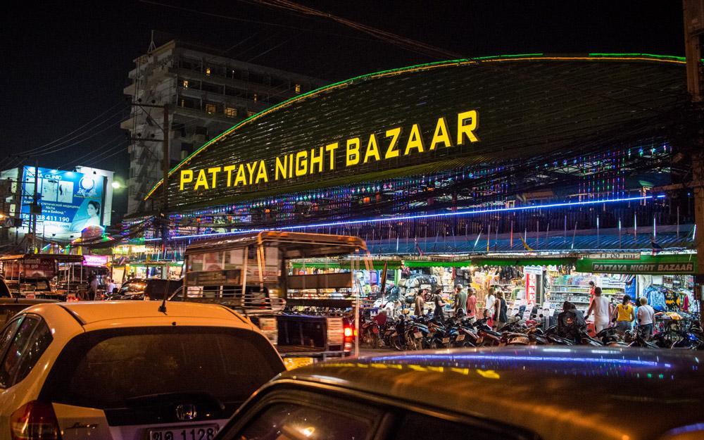 بازار شبانه پاتایا (تایلند)