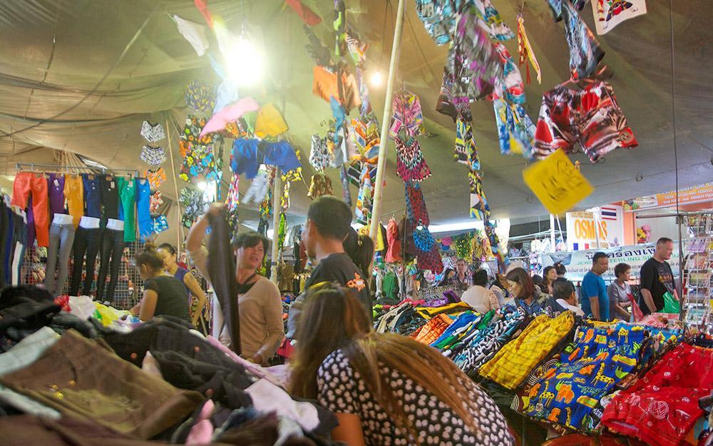 بازار بوا خائو پاتایا (تایلند)