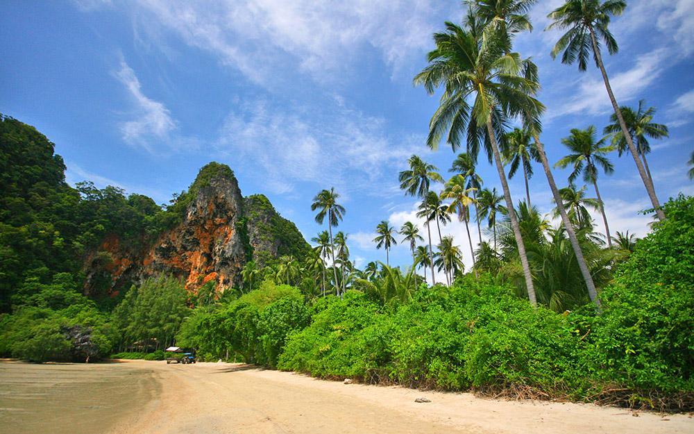 ساحل رایلی شرقی کرابی (تایلند)