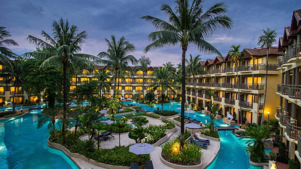 هتل پوکت ماریوت ریزورت اند اسپا مرلین بیچ (تایلند)